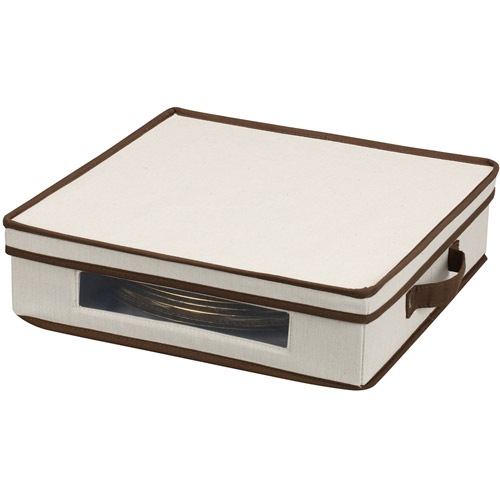 Household Essentials Window Vision Charger Plate Chest