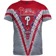 Philadelphia Phillies - Logo V Tie-Dye T-Shirt - Medium