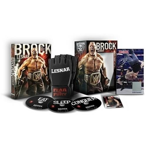 WWE: Brock Lesnar - Eat. Sleep. Conquer. Repeat. (Giftset)