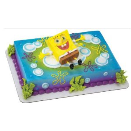SpongeBob SquarePants Ticklepants Birthday Party Cake Decoration Topper Kit