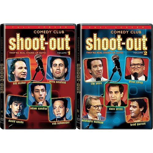 Comedy Club Shootout: Volumes 1 & 2 (Full Frame)