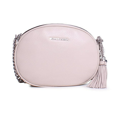 3c0d762c518b Michael Kors - Ginny Medium Leather Crossbody Bag - Pearl Grey -  30H6SGNM2L-513 - Walmart.com
