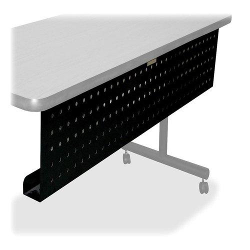 "Modesty panel, f/72"" Trng. Tables, 66""x3""x10"", Black LLR60686"