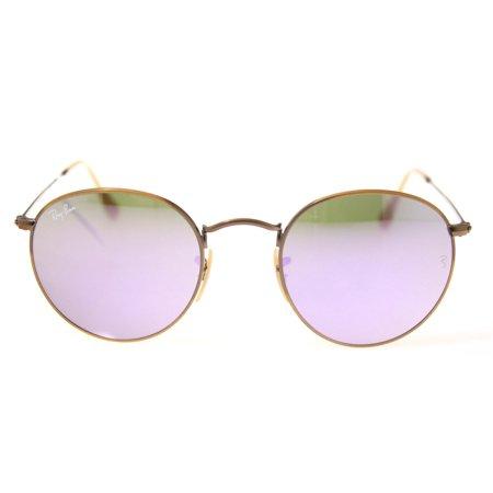 8b060c155b7 Ray-Ban - Ray-Ban Round Flash Lenses Sunglasses RB3447-167 4K-50 -  Walmart.com