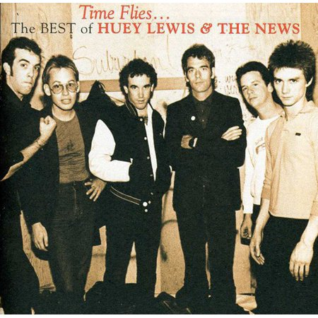 Huey Lewis   The News   Time Flies  The Best Of Huey Lewis   The News  Cd