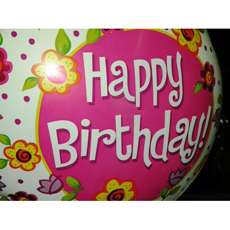 framed art for your wall decoration birthday party celebration balloon 10x13 - Wall Decorations For Parties