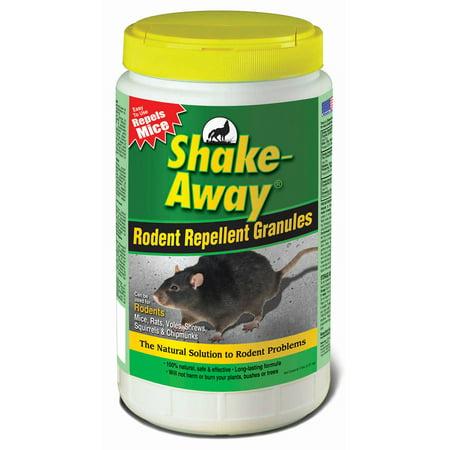 Shake Away 5006358 5 Lb Rodent Repellent Granules