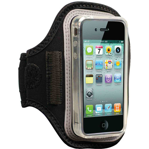 iessentials iPhone Armband Case, Black
