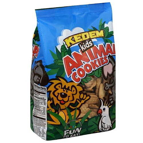 Kedem Animal Cookies, 12 oz (Pack of 12)