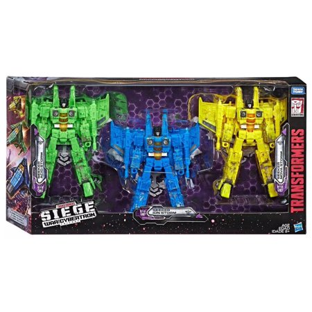 Transformers War for Cybertron: Siege Seeker Acid Storm, Seeker Ion Storm & Seeker Nova Storm Exclusive Voyager Action Figure 3-Pack - image 1 of 1