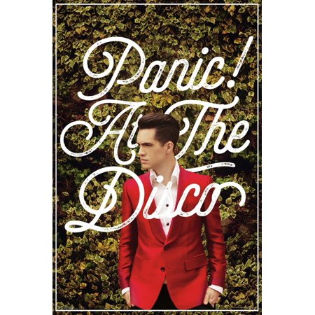 Panic At The Disco- Green Ivy & Red Suit Poster -