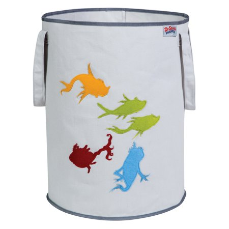 Dr. Seuss One Fish Two Fish Storage Tote by Trend Lab
