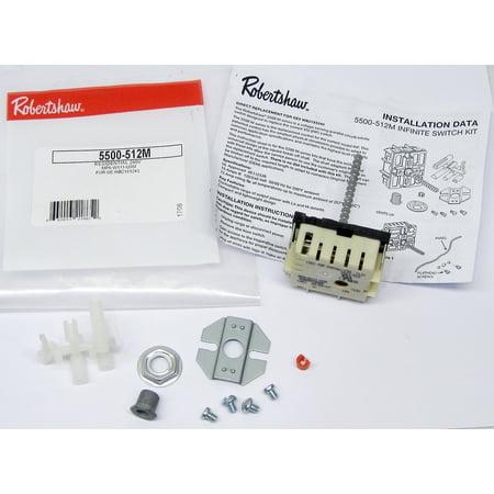Range Stove Burner Infinite Switch for GE WB21X5243 PS235991 AP2023620 - Walmart.com