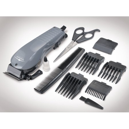 10 Piece Hair Clipper Set With Adjustable Electric Hair Clippers All In (Best Pubic Hair Trimmer)