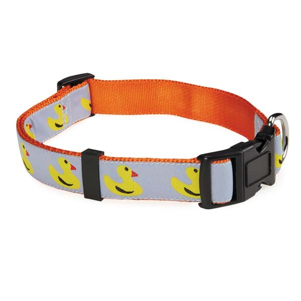 Zack & Zoey Water Ways Collar 18-26in Duck