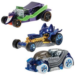 Hot Wheels DC Comics Character Car Assortment
