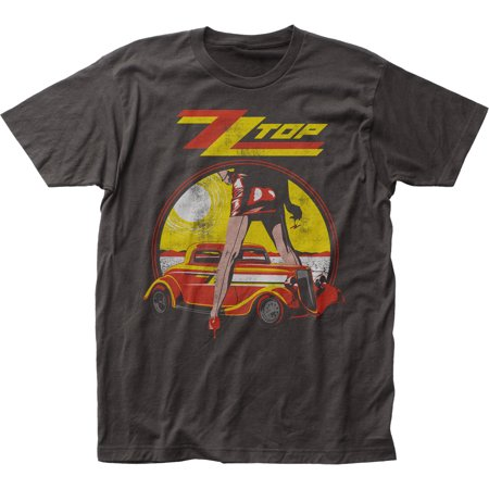 Zz Top Legs Album Classic Rock N Roll Band Adult Fitted Jersey T Shirt Tee
