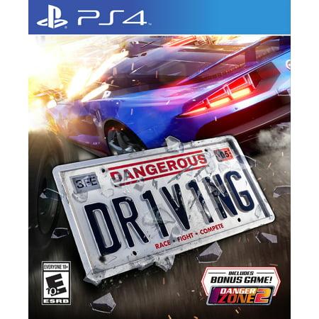 Diving Game (Dangerous Driving, Maximum Games, PlayStation 4,)