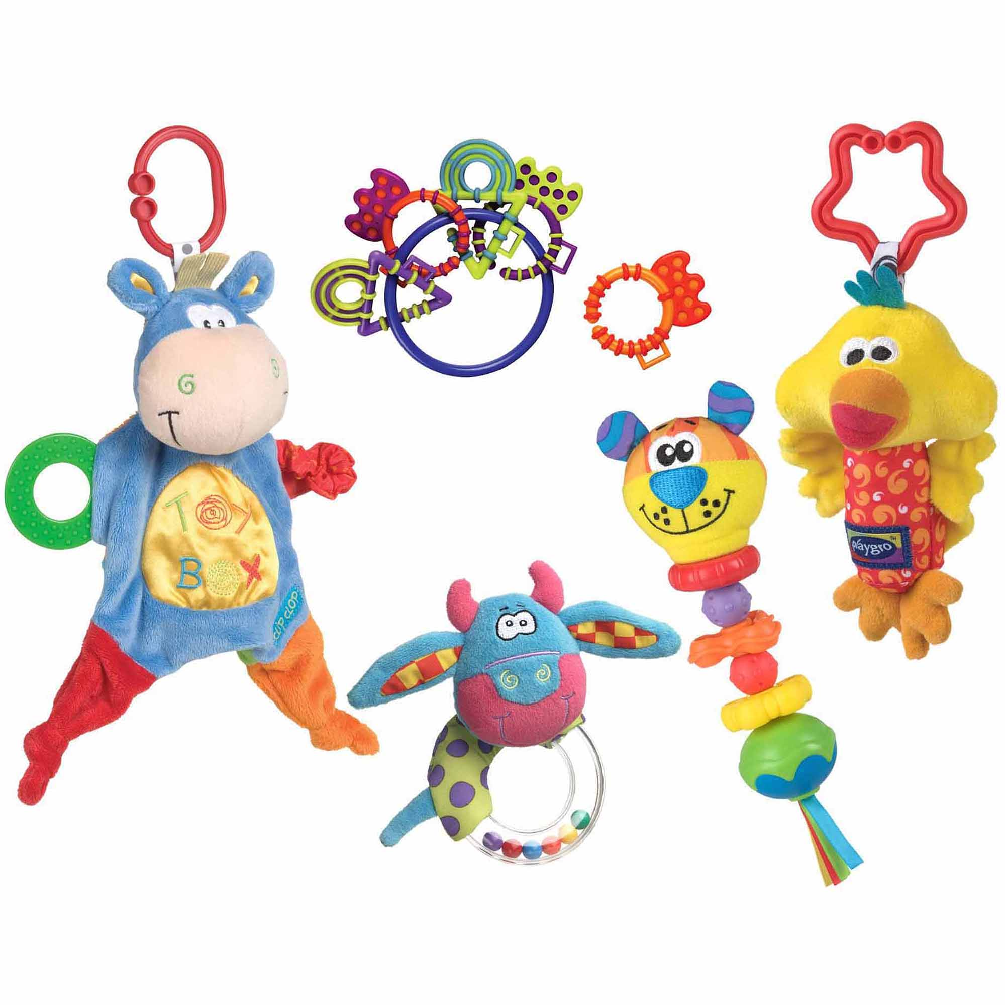 Playgro Blankie Teether Ready Pack