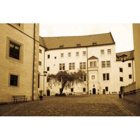 Facade of the castle site of famous WW2 prisoner of war camp Colditz Castle Colditz Saxony Germany Poster Print by Panoramic Images (36 x