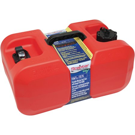 Scepter Under Seat Portable Fuel - 200 Fuel Tank