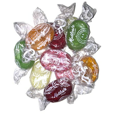 Kosher Hard Candy - Matlow's Assorted Fruit Hard Candy Kosher 5.5lb