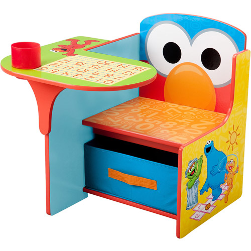 Sesame Street Desk & Chair with Storage Bin