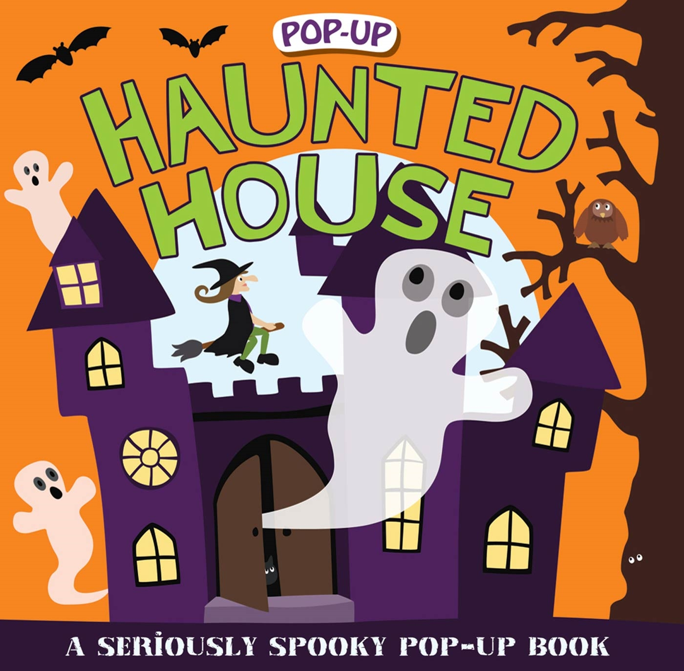 Pop-up Surprise Haunted House : A Seriously Spooky Pop-Up Book