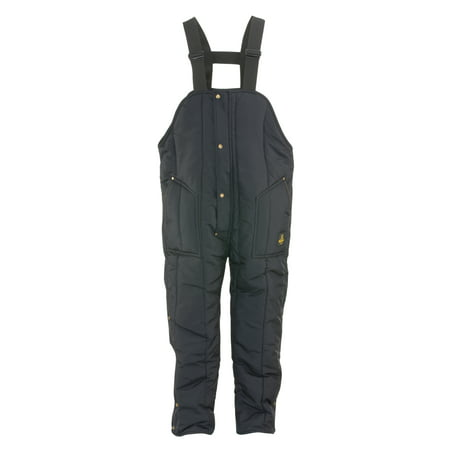 - RefrigiWear Men's Iron-Tuff Insulated High Bib Overalls -50F Cold Protection