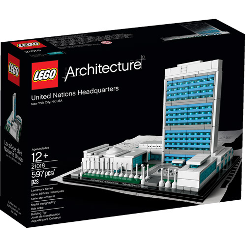 LEGO Architecture United Nations Headquarters Building Set
