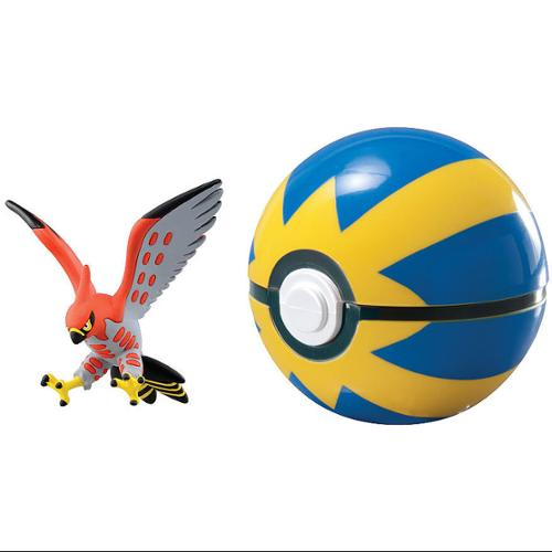 Pokemon X & Y Clip n Carry Pokeball Talonflame & Quick Ball Figure Set
