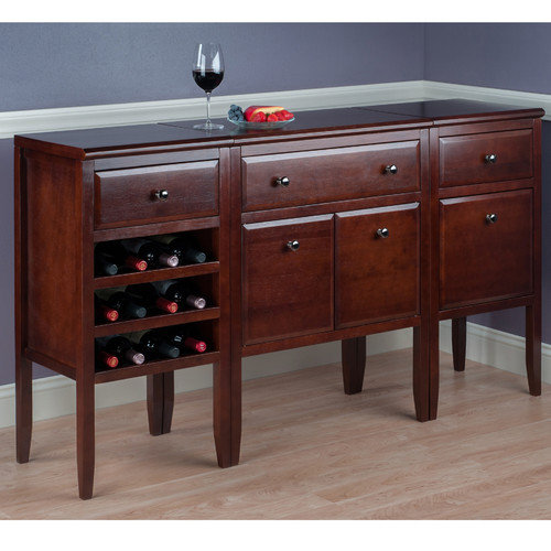 Luxury Home Orleans 12 Bottle Wine Cabinet