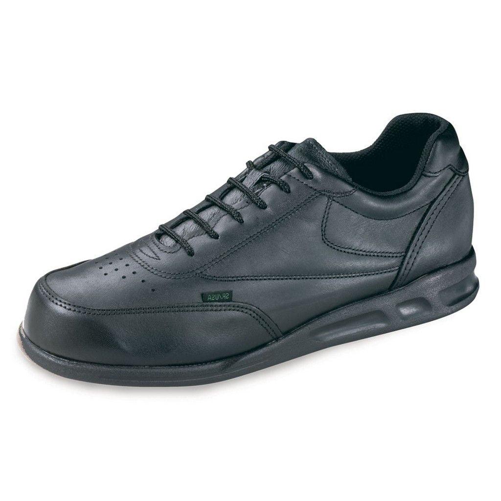Thorogood Work Shoes Womens Athletic Postal Leather Black 534-6501 - Walmart.com