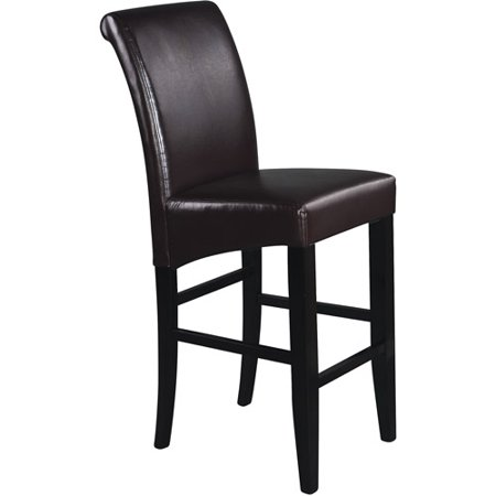 Metro Parsons Bar Stool 30    Espresso Leather