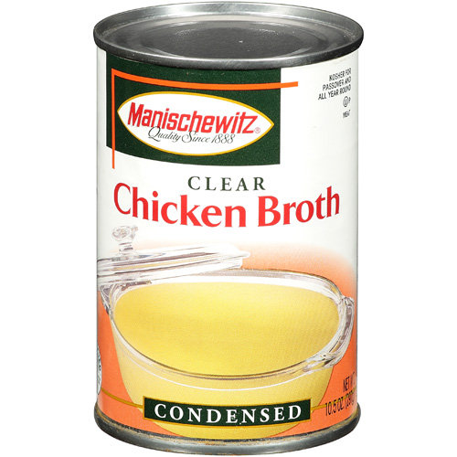how to get clear chicken broth