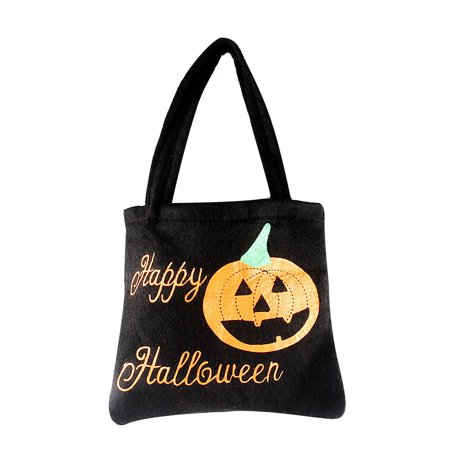 Halloween Pumpkin Witch Sugar Bag Bag Children 's Party Storage Bag Gift BK - Halloween Crafts Paper Bag Pumpkin