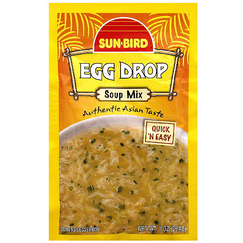 Sun-Bird Egg Drop Soup Mix, 1 oz (Pack of 24)