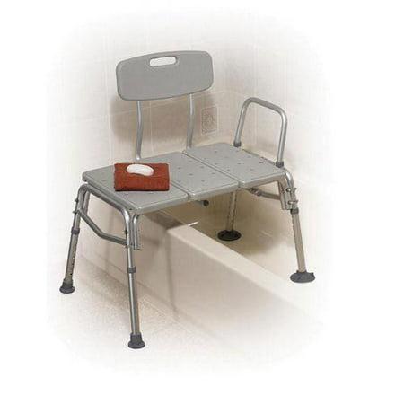 Shower Seat Bench Bathtub for Elderly W/Arm and Back Medical Adjustable Bathroom Transfer Bench Stool - Bathtub Transfer Seats