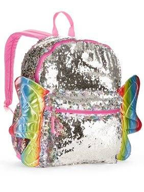 Product Image Butterfly 2-Way Sequins Critter Backpack 4da2177f1ec15