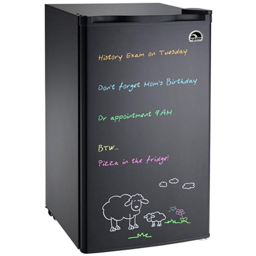 Igloo Fr326m 3 2 Cu Ft Eraser Board Refrigerator Black