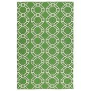 Kaleen Brisa Handmade Bri05-96a Lime Green 2' X 3' Rectangle