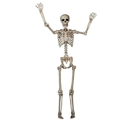Skeleton Poseable Halloween Decoration - Good Halloween Decorations Homemade