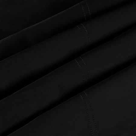 "Pillow Cases 100% Long Staple Combed Cotton 300 TC, Black 20"" x 30"", Set of 2 - image 4 of 8"