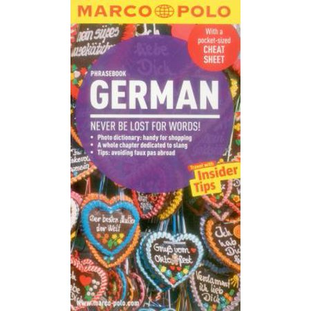 Marco Polo German Phrasebook
