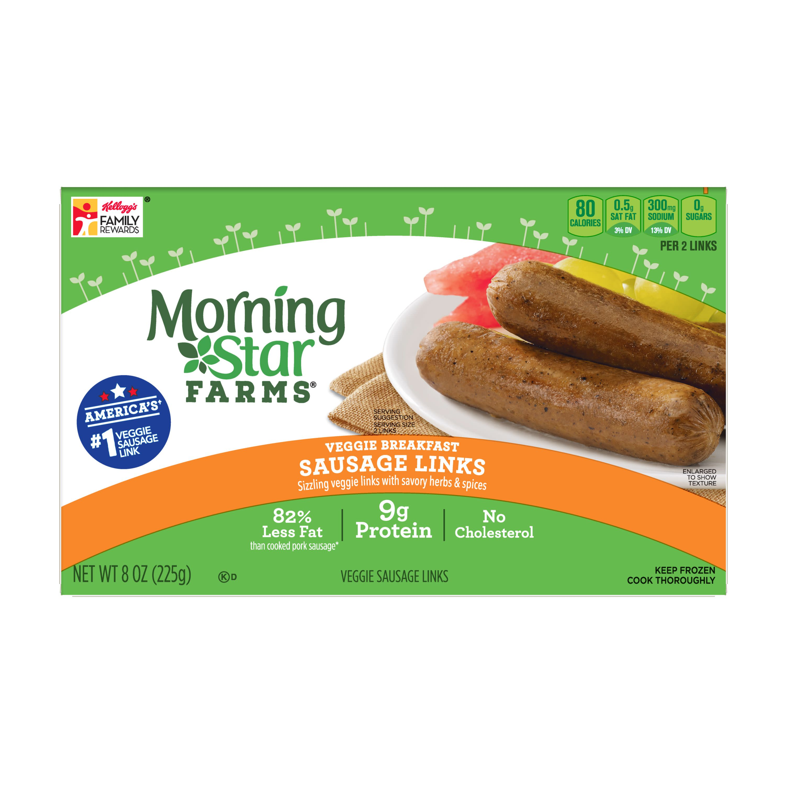 Morning Star Sausage Links Nutrition Facts Nutritionwalls