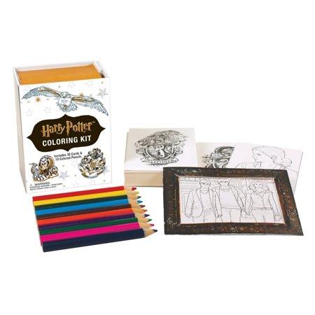 Harry Potter Coloring Kit - Harry Potter Kit