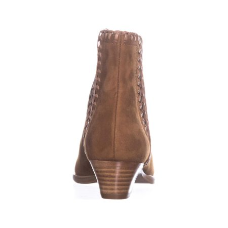 Michael Kors Collection Presley Pull On Stiched Ankle Boots, Dark Luggage - image 4 de 6