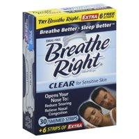 GlaxoSmithKline Breathe Right  Nasal Strips, 30 ea