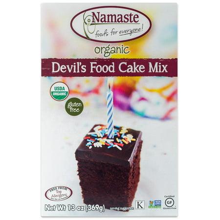 Namaste Foods Organic Devil's Food Cake Mix, 13 oz](Devil's Food Cake Halloween)
