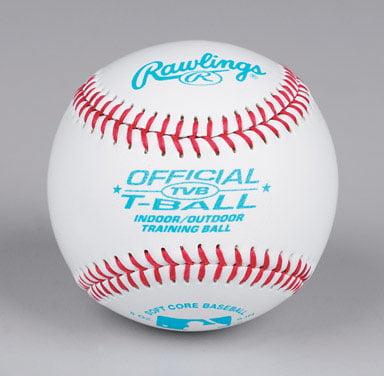 Rawlings Baseball TVB League Tee Ball (Singles) Ages 6 & Under